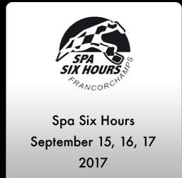 Spa 6 Hours 2107